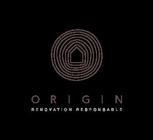 Origin Logo and slogan